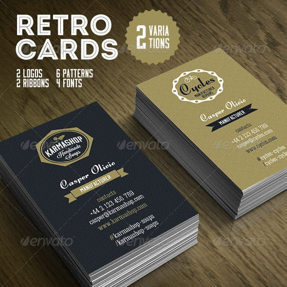Vintage Business Card Templates Designs From Graphicriver Page 7