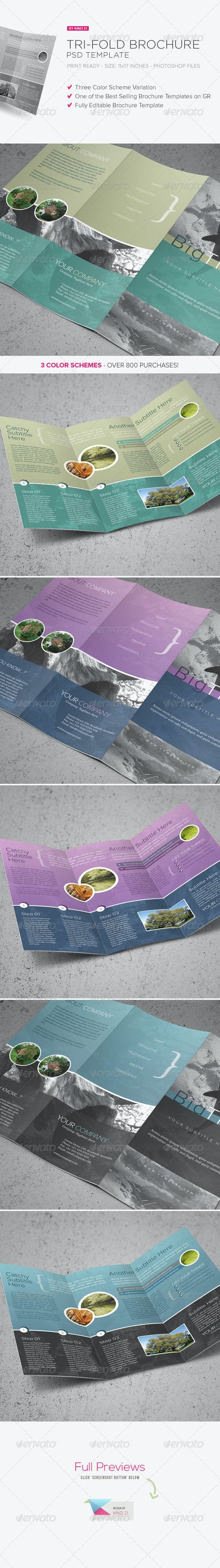 tri fold brochure psd template by kinzi21 graphicriver