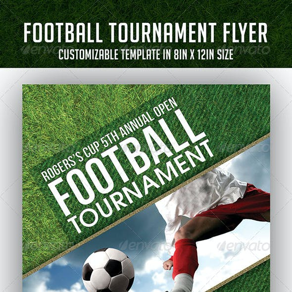 Championship Event And Football Tournament Event Flyer Templates