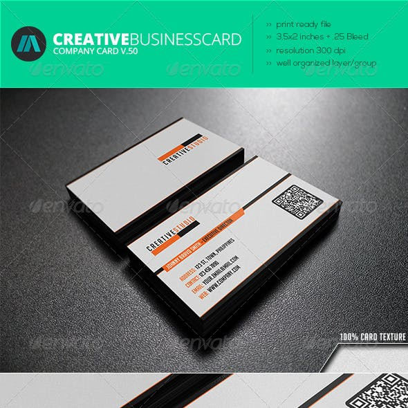 Title card graphics designs templates from graphicriver page 15 intenseartisan business card vol50 colourmoves