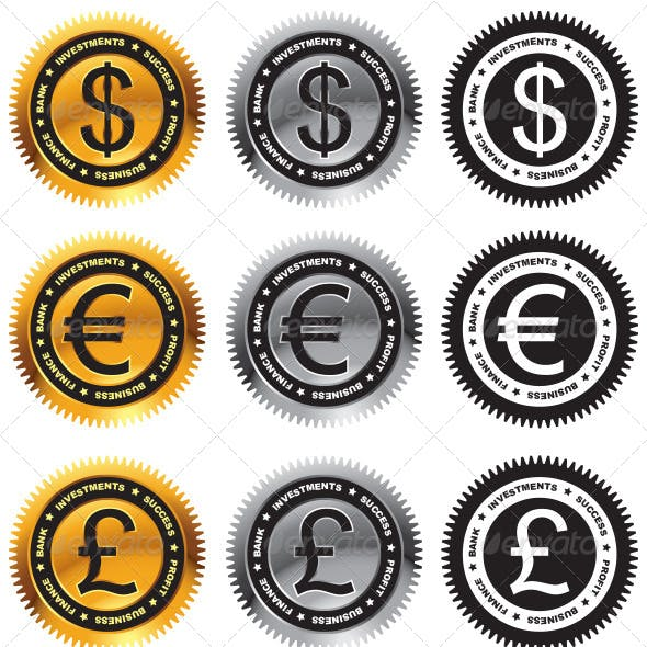 Currency Symbol Graphics Designs Templates From Graphicriver