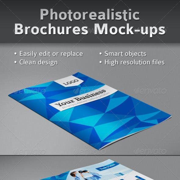 Brochure Mockup Landscape Graphics, Designs & Templates