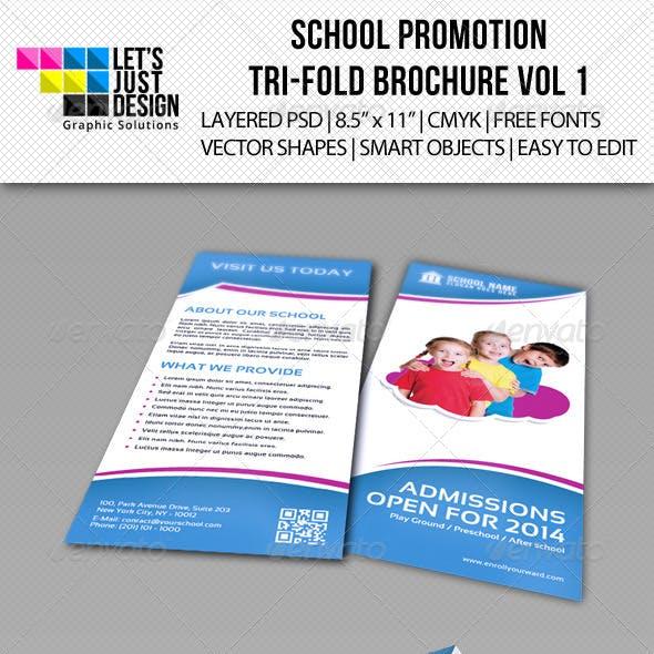 school promotion tri fold brochure vol 1 by letsjustdesign.html