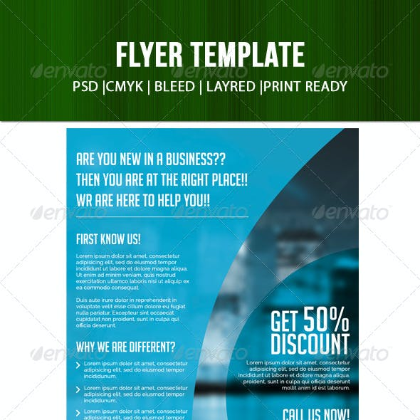 one page flyer stationery and design templates page 6