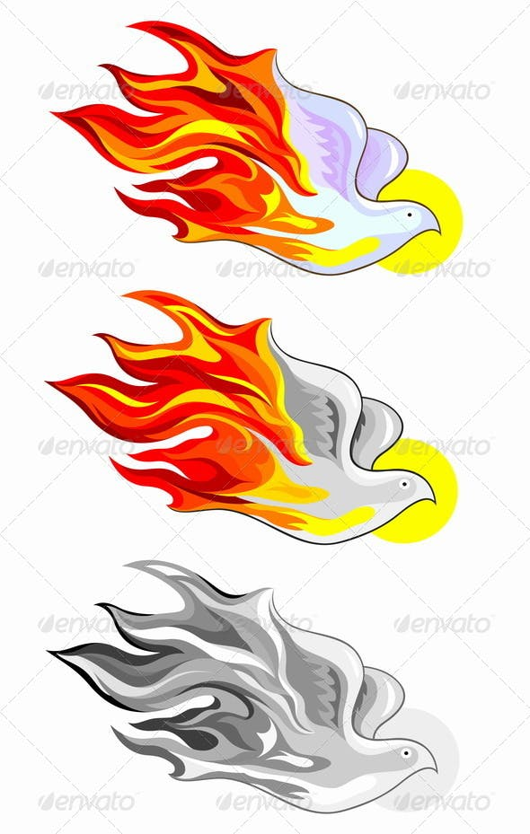 holy spirit fire by martinussumbaji graphicriver