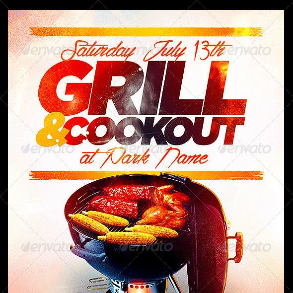 cookout graphics designs templates from graphicriver