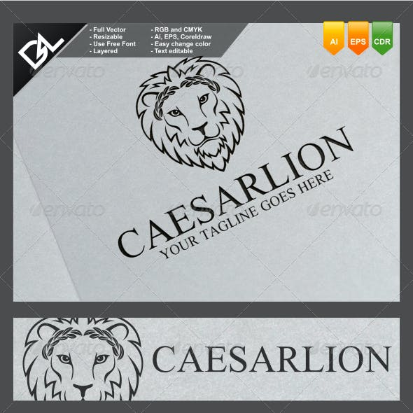 caeser cool logo template from graphicriver