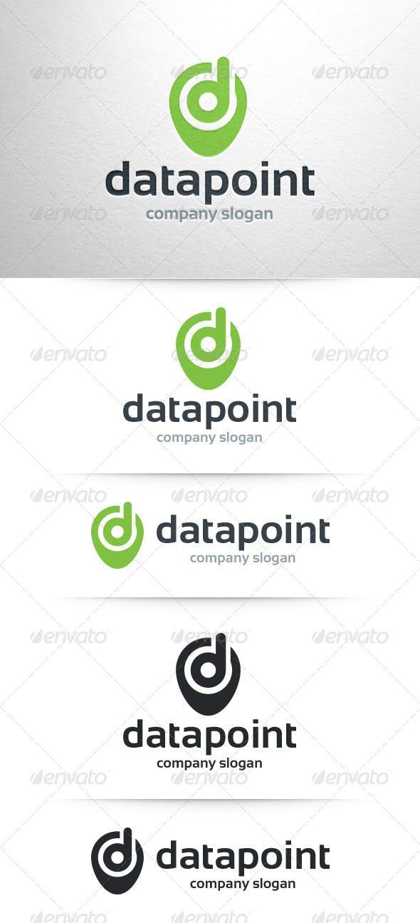 Data Point Letter D Logo Letters Templates