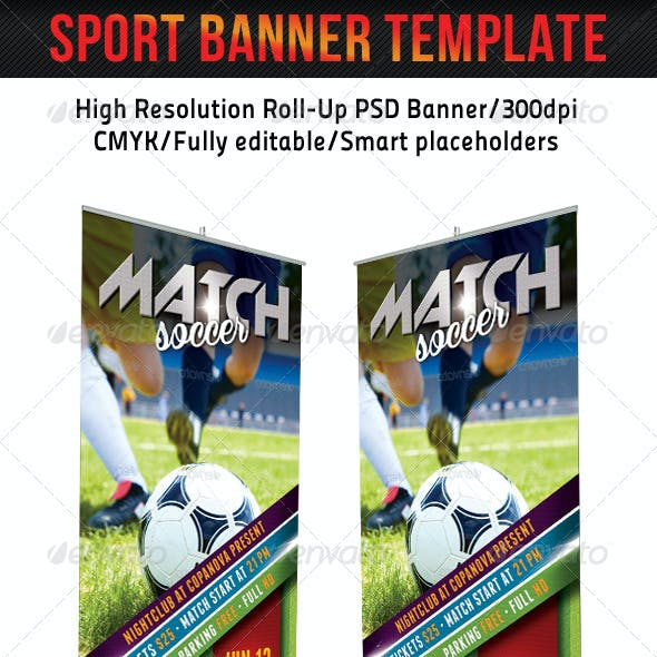 2018 graphics designs templates from graphicriver page 40 sport banner template 19 maxwellsz