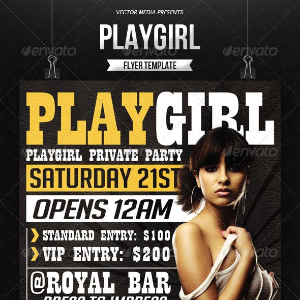 Playboy And PSD Graphics Designs Templates From GraphicRiver
