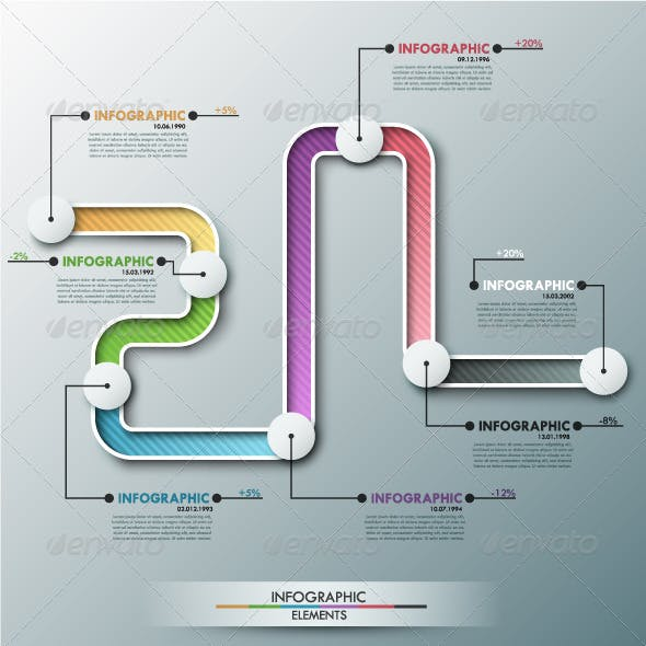 infographic timeline graphics designs templates