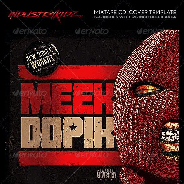 Mixtape Cover Template | Mixtape Cover Design Graphics Designs Templates