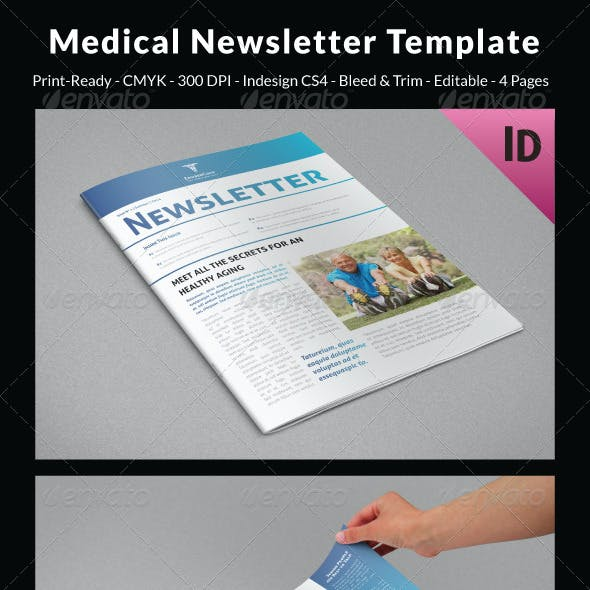 healthcare newsletter graphics designs templates