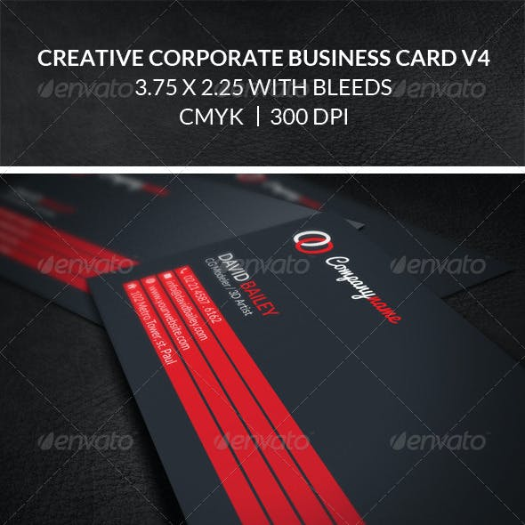 Creative business card templates designs with minimum adobe cs creative corporate business card v4 cheaphphosting Images