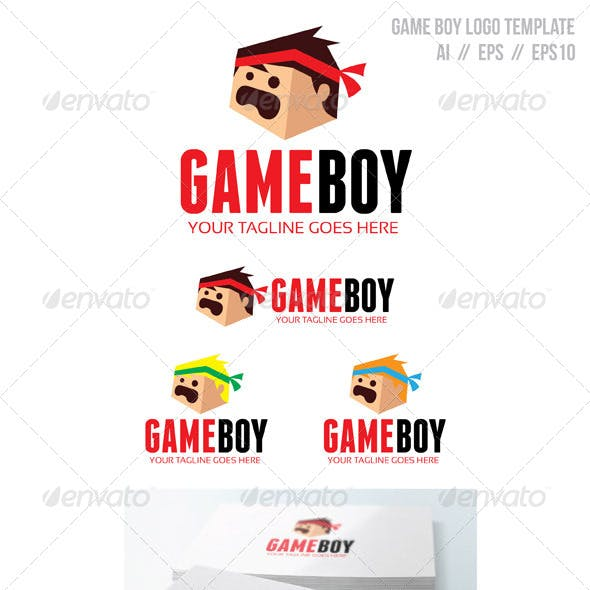 gameboy graphics designs templates from graphicriver